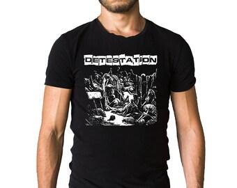 Detestation Self Titled Album Detestation 1998 Cover T-Shirt
