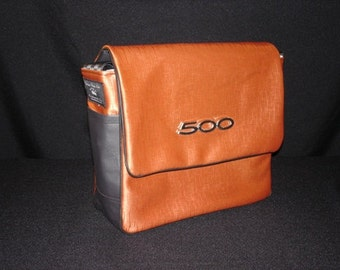 Small Messenger Bag w/ Ford Fairlane / Galaxy 500 emblem ON SALE