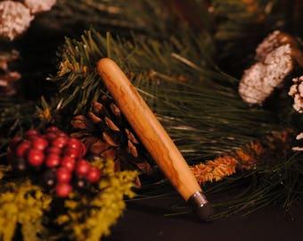 Bethlehem Olive Wood Stylus - Handmade Wood Stylus - Holy Land - Custom Stylus - Wood Stylus - Olivewood - Olive wood - Jerusalem Wood
