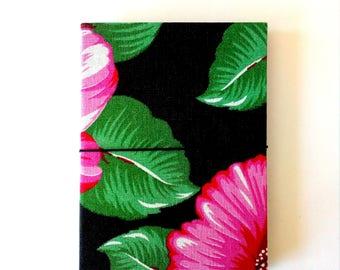 Traveler's Notebook A6 Black midori fabric fauxdori