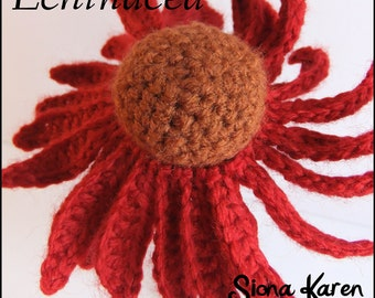 Echinacea Crochet Pattern PDF
