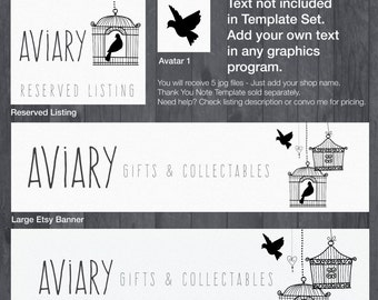 Etsy Banner and Store Branding DIY Template - #1882