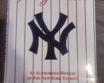 The Yankees An Authorized History of The New York Yankees  By Phil Pepe and signed autograph signature