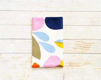 Marimekko mobile phone case cell phone cover pouch pocket sleeve wallet Hattarakukka pink blue yellow cotton lined secured large unique gift