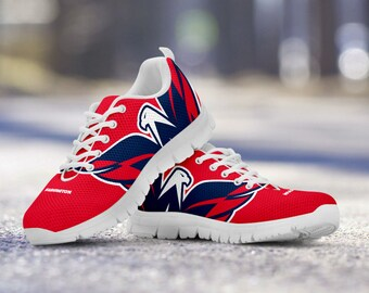 Washington Capitals Fan Custom Unofficial Running Shoes/Sneakers/Trainers - Ladies, Mens, Kids Sizes, collector, gift