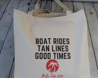 Tote Bag, Wedding Party, Bachelorette Party, Bridesmaids gift, gift for her, Girls Trip, gift Bag, Swag Bag, beach bag, thank you gift