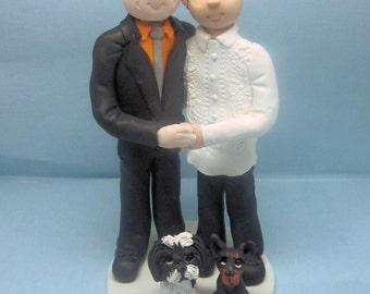 Civil Union Cake Topper