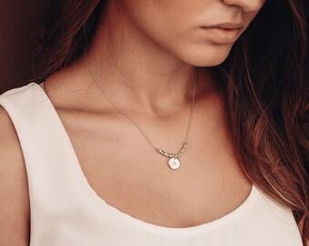 GRACE Silver Pendant-Handmade