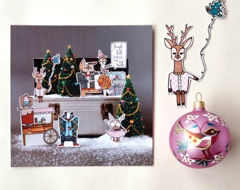 Christmas / holiday greeting card