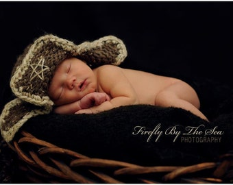 Soft and cute, baby boy hat, perfect newborn photo prop and for winter every day use.