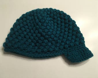 Real Teal Sporty Women's Beanie Hat