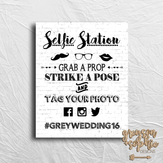 It is a graphic of Satisfactory Selfie Station Sign Free Printable