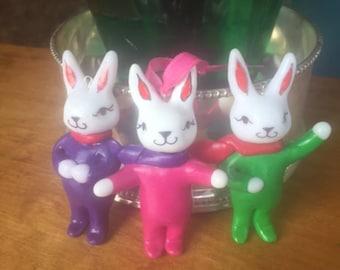 Accountability Bunny! Cute motivational spirit animal, Sweet bunny totem. Motivational gift for creative Women