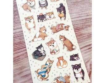 Shiba Inu Stickers from Japan