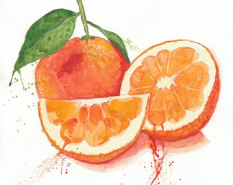 Oranges are not the only fruit... Original Illustration