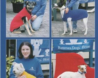 Sirdar (5792) Double Knitting Dog Blanket and Coat Knitting Pattern
