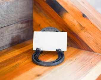 Pony Shoe Business Card Stand