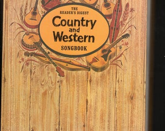 Hardback -Readers digest- Country and Western  -251 pgs 1983c- Over 100 early to 80's country/bluegrass song-Anecdotal stories for each song