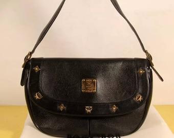 Authentic MCM Honshu shoulder bag with dust bag