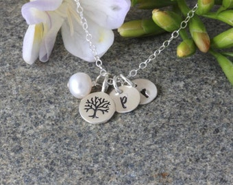 Mothers day gift for grandma - gifts for mom - Gift for mom - Mother Jewelry - Mother of Groom Gift - Mother of Bride Gift - Family Tree