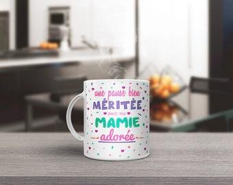break for my ADORED Grandma mug