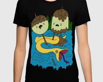 Princess Bubblegum Rock T-Shirt Adventure Time Men's Women's Tee