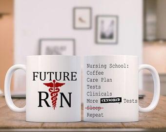 Nursing Student Mug - Nursing School Mug - Nurses Week Gifts - Nurse Graduation - Nursing School Gifts - Nursing Student Gift - Funny Gift