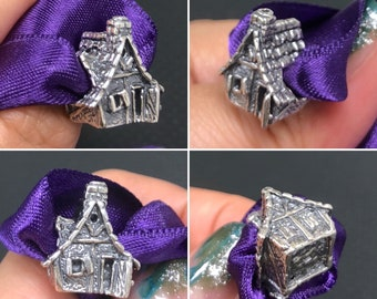 Witch house 925 Silver for trollbeads