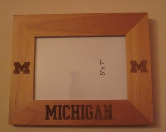 University of Michigan Frame - Block M