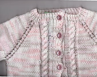 Child's Pink Cardigan