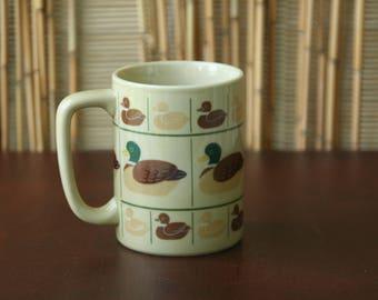 Vintage Otagiri Coffee Mug Duck Mug Hot Chocolate Mug 70s