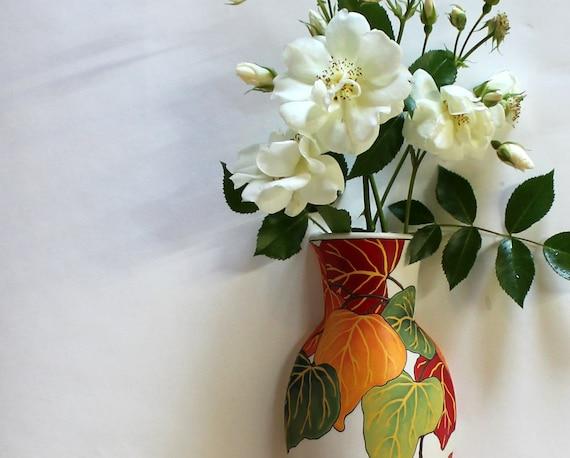 Redbud Wall Vase