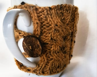Cable Knit Mug Cozy