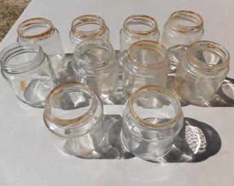 Glass Baby Food Jars, Vintage baby food jars - deocration or storage