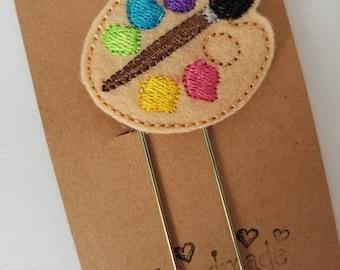 Art Palette Feltie Jumbo Bookmark - XL - Planner Accessory- Planner Clip - Small Gift