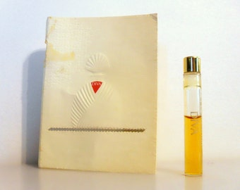 Vintage 1980s Diva by Ungaro Parfum Sample Vial on Card PERFUME