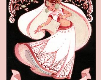 Tea & Strumpets: Sweet Chai - Art Print