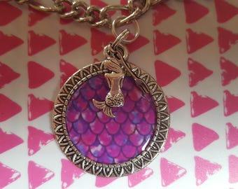 Mermaid bracelet or charm bracelet