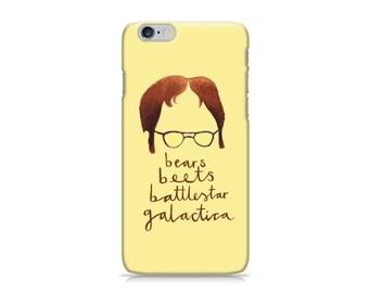 Dwight Schrute iPhone/Samsung Galaxy Phone Case