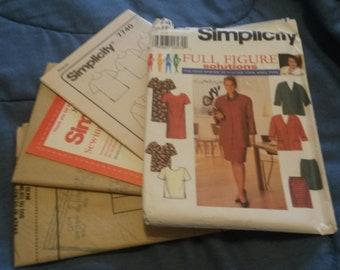 Siplicity pattern #7740  uncut  working woman 18-24w