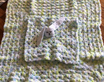 baby blanket with bunny security blanket
