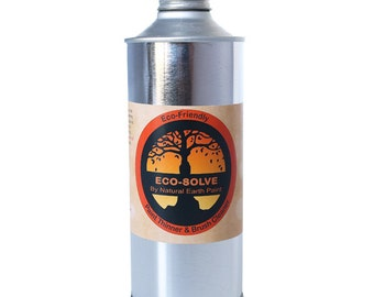 Eco-Solve : Natural & Non-toxic Paint Thinner/ Brush Cleaner