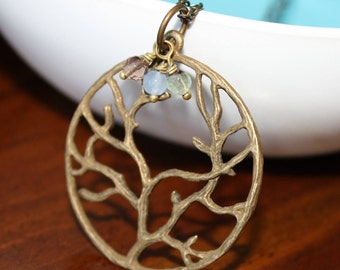 Winding Branch Necklace