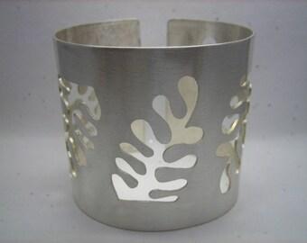 Matisse Inspired Seaweed Cuff v2