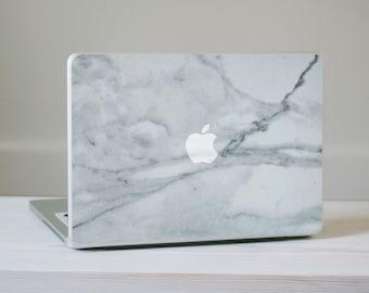Marble MacBook Decal - Genuine Marble Vinyl Laptop Skin