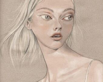 PRINT - Limited Edition - 17x24 cm unframed - Brienne