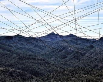 Ridges - Framed Fine Art Photograph Print