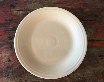 Fiestaware Ivory Dinner Plate 10.5\  Contemporary P86 Fiesta - 4 available & Fiesta ware plate   Etsy