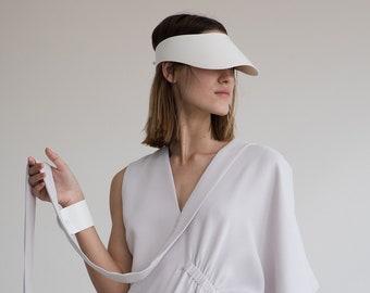 Travel gift women, sun hat, vegan accessories, Sun visor hat, vegan hat, women visor, vacation hats, floppy summer hat, outdoor hat women,