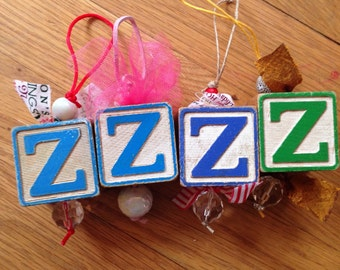 Christmas ornaments vintage Christmas decor personalized letter ornaments stocking stuffers gifts for mom